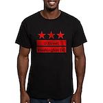 More U Street Men's Fitted T-Shirt (dark)