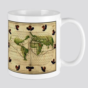 """1544 World Map"" Mug"