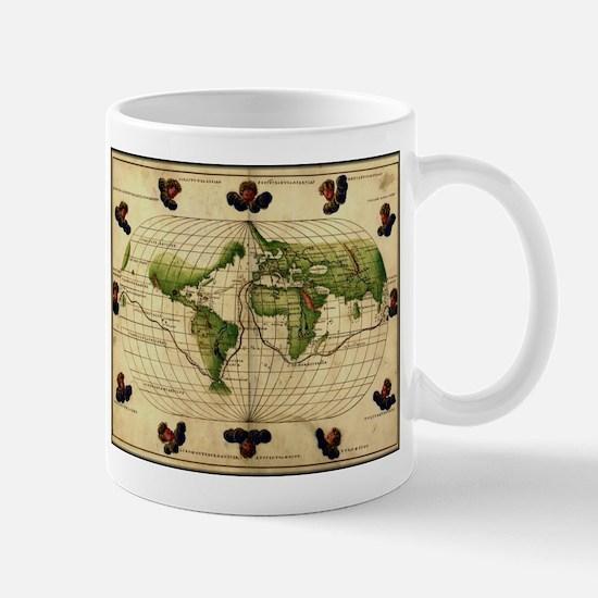 """1544 World Map"" Mug"