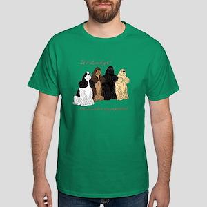 Cocker Values Dark T-Shirt