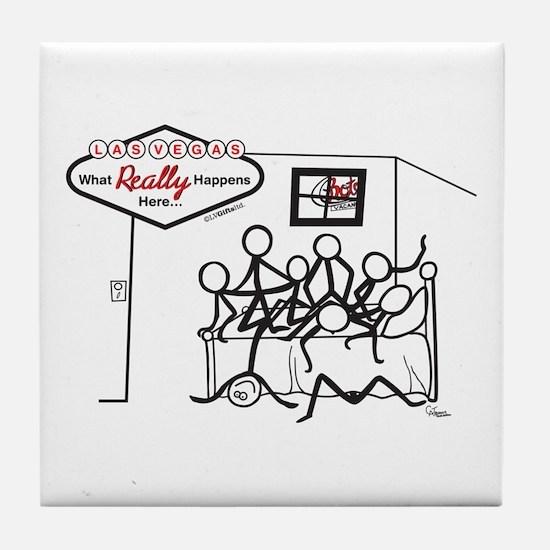 Orgy Tile Coaster