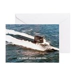 USS ETHAN ALLEN Greeting Cards (Pk of 10)
