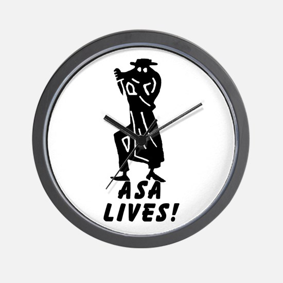 ASA Lives Wall Clock