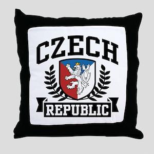Czech Republic Throw Pillow