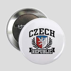 """Czech Republic 2.25"""" Button"""