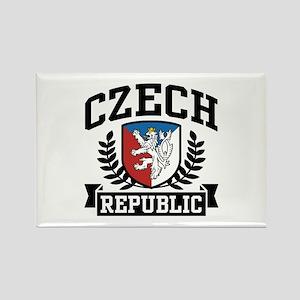 Czech Republic Rectangle Magnet