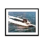 USS ETHAN ALLEN Framed Panel Print