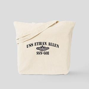 USS ETHAN ALLEN Tote Bag
