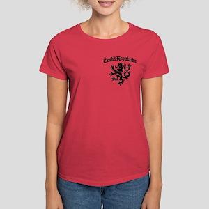 Ceska Republika Women's Dark T-Shirt