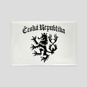 Ceska Republika Rectangle Magnet