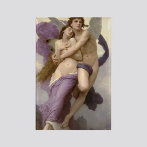 Cupid and Psyche Rectangle Magnet
