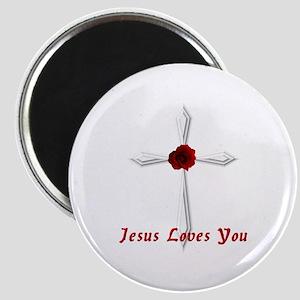 Jesus Loves You - Magnet