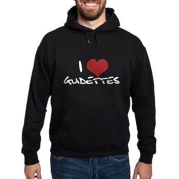 I Heart Guidettes Hoodie (dark)