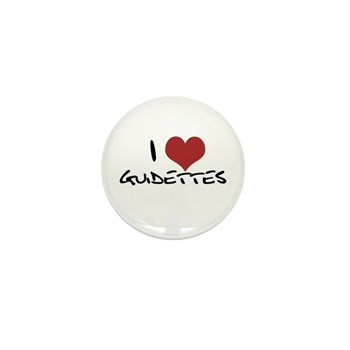 I Heart Guidettes Mini Button (10 pack)