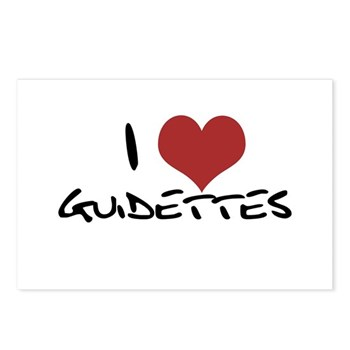 I Heart Guidettes Postcards (Package of 8)