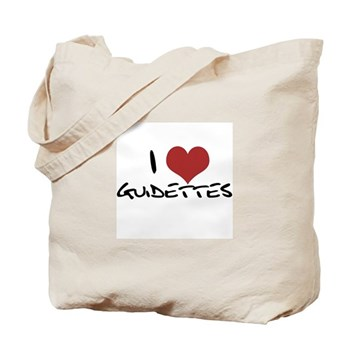 I Heart Guidettes Tote Bag