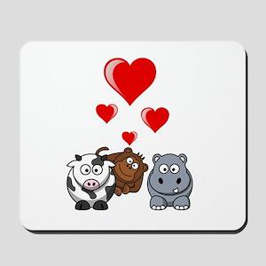 Valentine Beasts 2 Mousepad