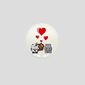 Valentine Beasts 2 Mini Button