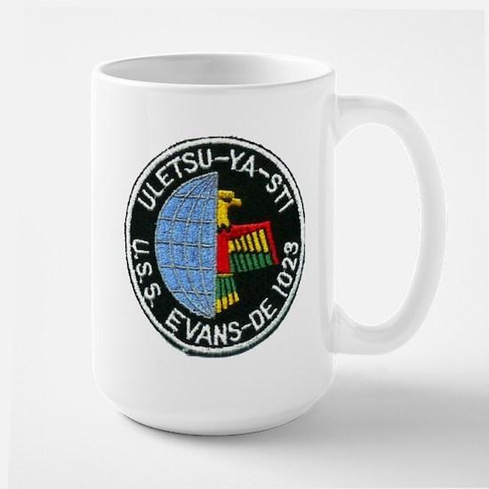 USS EVANS Large Mug