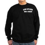 USS EVANS Sweatshirt (dark)