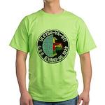 USS EVANS Green T-Shirt