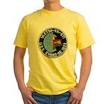 USS EVANS Yellow T-Shirt