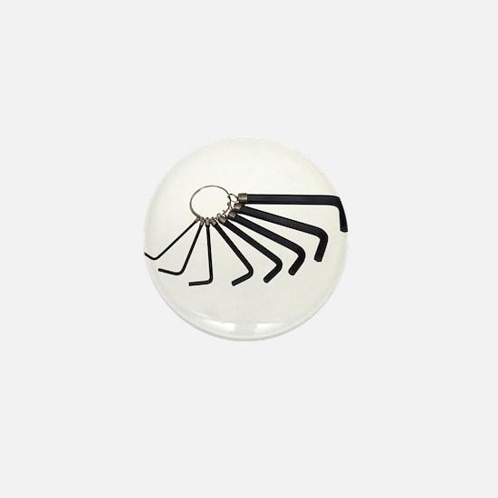 Allen Wrenches Mini Button