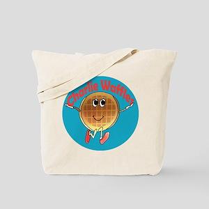 Charlie Waffles Tote Bag