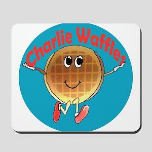 Charlie Waffles Mousepad