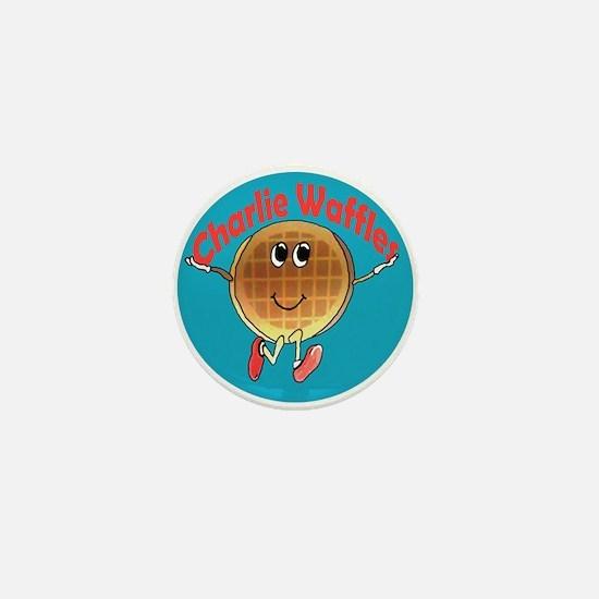 Charlie Waffles Mini Button