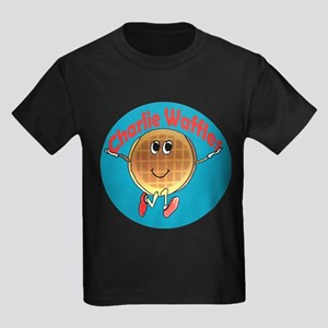 Charlie Waffles Kids Dark T-Shirt