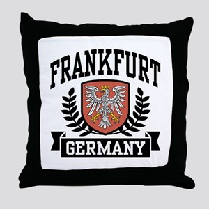 Frankfurt Germany Throw Pillow