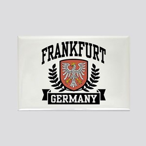 Frankfurt Germany Rectangle Magnet