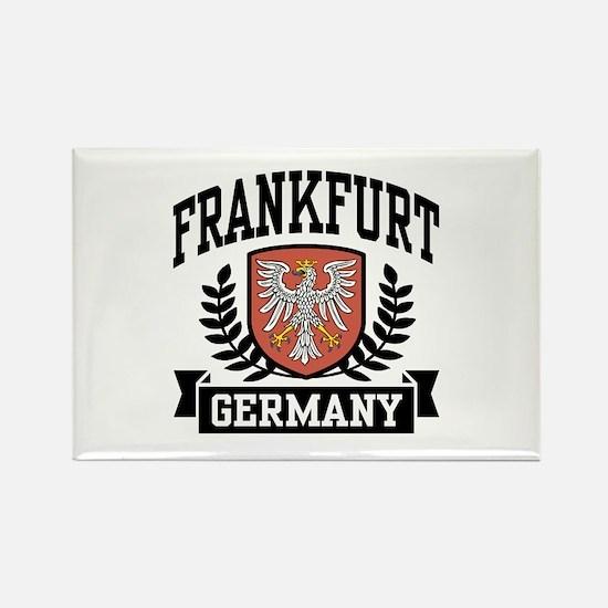 Frankfurt Germany Rectangle Magnet