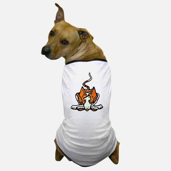 Ib in Orange Dog T-Shirt