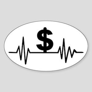 Dollar frequency Sticker