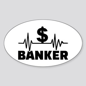 Banker frequency Sticker