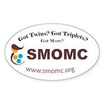 Smomc Logo Car Decal With Web Addy Sticker