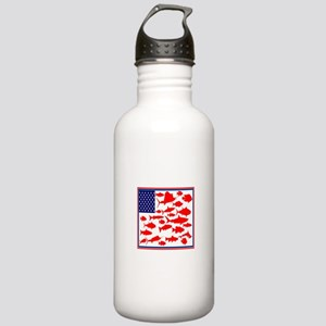 FISH FLAGGED Water Bottle