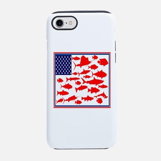 FISH FLAGGED iPhone 7 Tough Case
