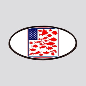 FISH FLAGGED Patch