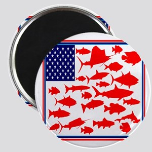 FISH FLAGGED Magnets