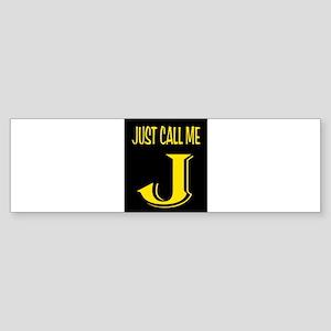 JAY Bumper Sticker