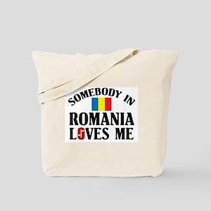 Somebody In Romania Tote Bag