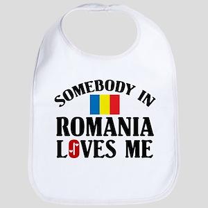 Somebody In Romania Bib
