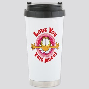 Love You This Much! Stainless Steel Travel Mug