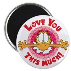 Love You This Much! 2.25&Quot; Magnet (100 Pack)
