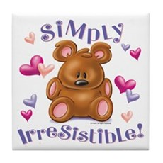 Simply Irresistible! Tile Coaster