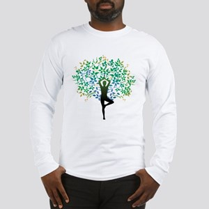 YOGA TREE POSE Long Sleeve T-Shirt