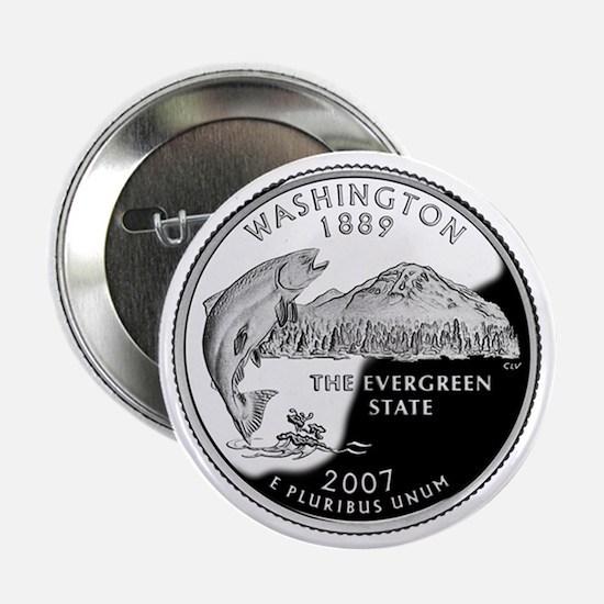 "Washington State Quarter - 2.25"" Button"